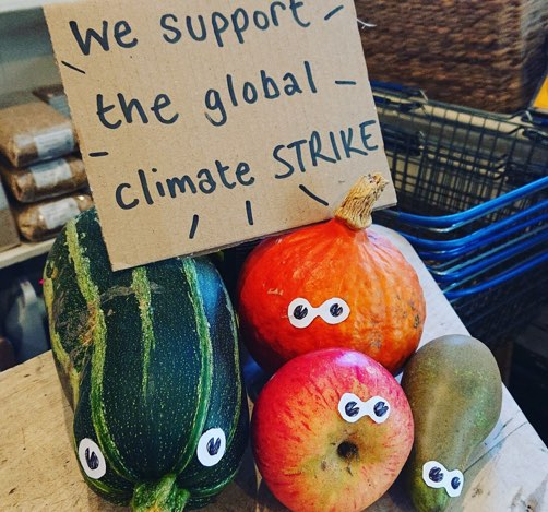 some veg for the climate strike